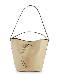 Furla Vittoria Leather Bucket Bag