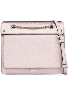 Furla Woman Like Mini Pebbled-leather Shoulder Bag Lilac