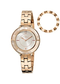 Furla Women's Club Silver Dial Stainless Steel Watch