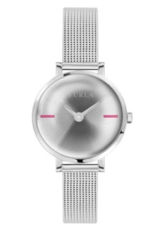 Furla Women's Mirage Silver Dial Stainless Steel Watch
