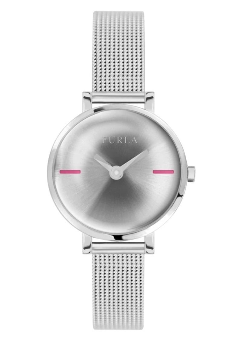 Furla Women's Mirage Silver Dial Stainless Steel Watch