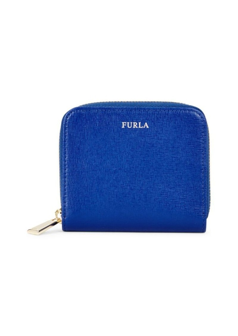 Furla Zippered Leather Wallet