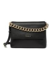 Furla Gaya Small Top Handle Leather Shoulder Bag