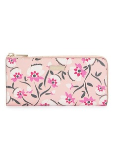 Furla Heather Floral Leather Wallet