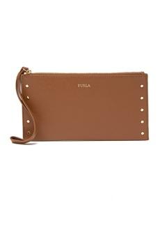 Furla Italia XL Leather Envelope Wristlet