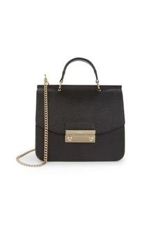 Furla Mini Julia Leather Top Handle Bag