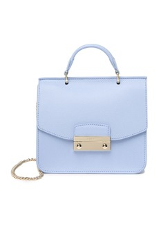 Furla Julia Small Top Handle Leather Crossbody Bag