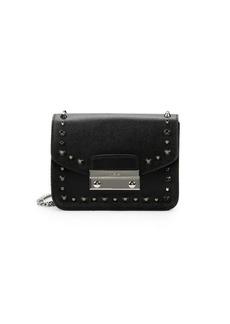 Furla Julia Studded Mini Leather Crossbody Bag