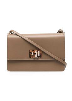 Furla leather satchel bag