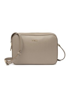 Furla Lilli XL Double Zip Leather Crossbody Camera Bag