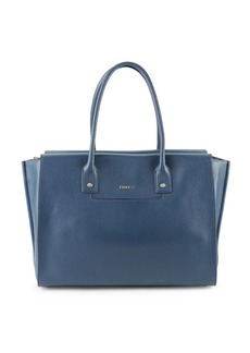 Furla Linda Textured Leather Shoulder Bag