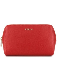 Furla logo make up bag