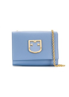 Furla logo plaque crossbody bag