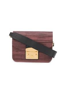 Furla mahogany cross body bag