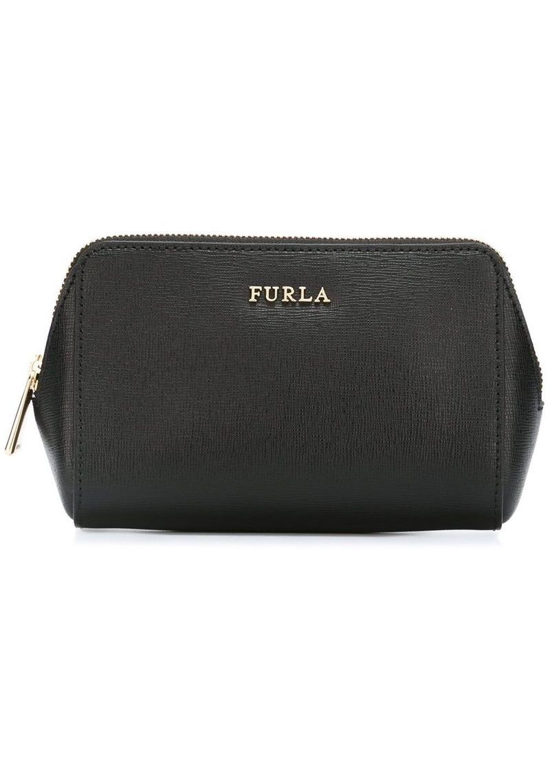 Furla textured make-up bag
