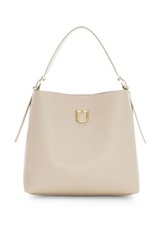 Furla Medium Belvedere Leather Hobo Bag