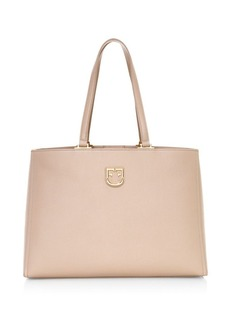 Furla Medium Belvedere Leather Tote