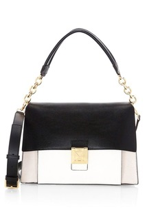 Furla Medium Diva Leather Shoulder Bag