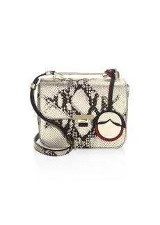 Furla Metallic Leather Crossbody Bag