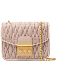 Furla Metropolis Cometa quilted cross body bag