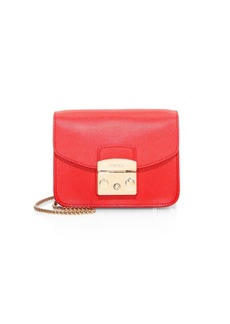 Furla Metropolis Mini Leather Crossbody Bag