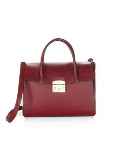 Furla Metropolitan Leather Satchel