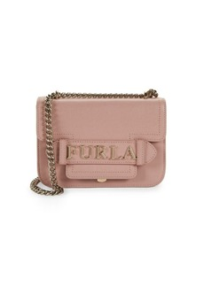 Furla Mini Carol Leather Chain Crossbody Bag