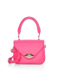 Furla Mini Eye Leather Top Handle Bag