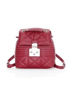 Furla Mini Leather Backpack