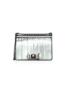 Furla Mini Mimi Metallic Leather Crossbody Bag