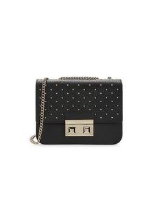 Furla Mini Studded Leather Crossbody Bag