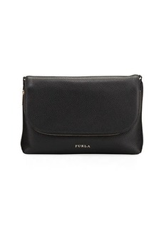 Furla Noemi S Flap-Top Leather Crossbody Bag