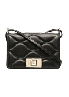 Furla quilted leather crossbody bag