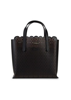 Furla Sally Cut-Out Leather Tote