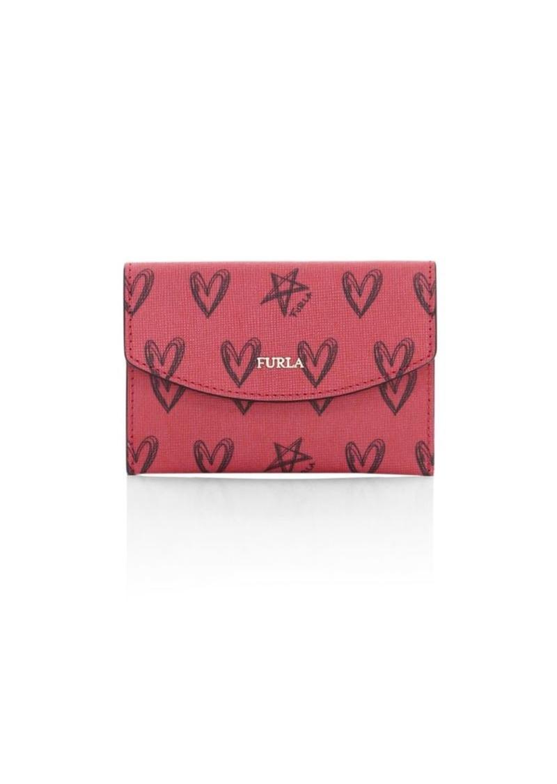 Furla San Valentino Leather Card Case