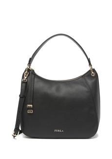 Furla Sienna Medium Leather Hobo Bag