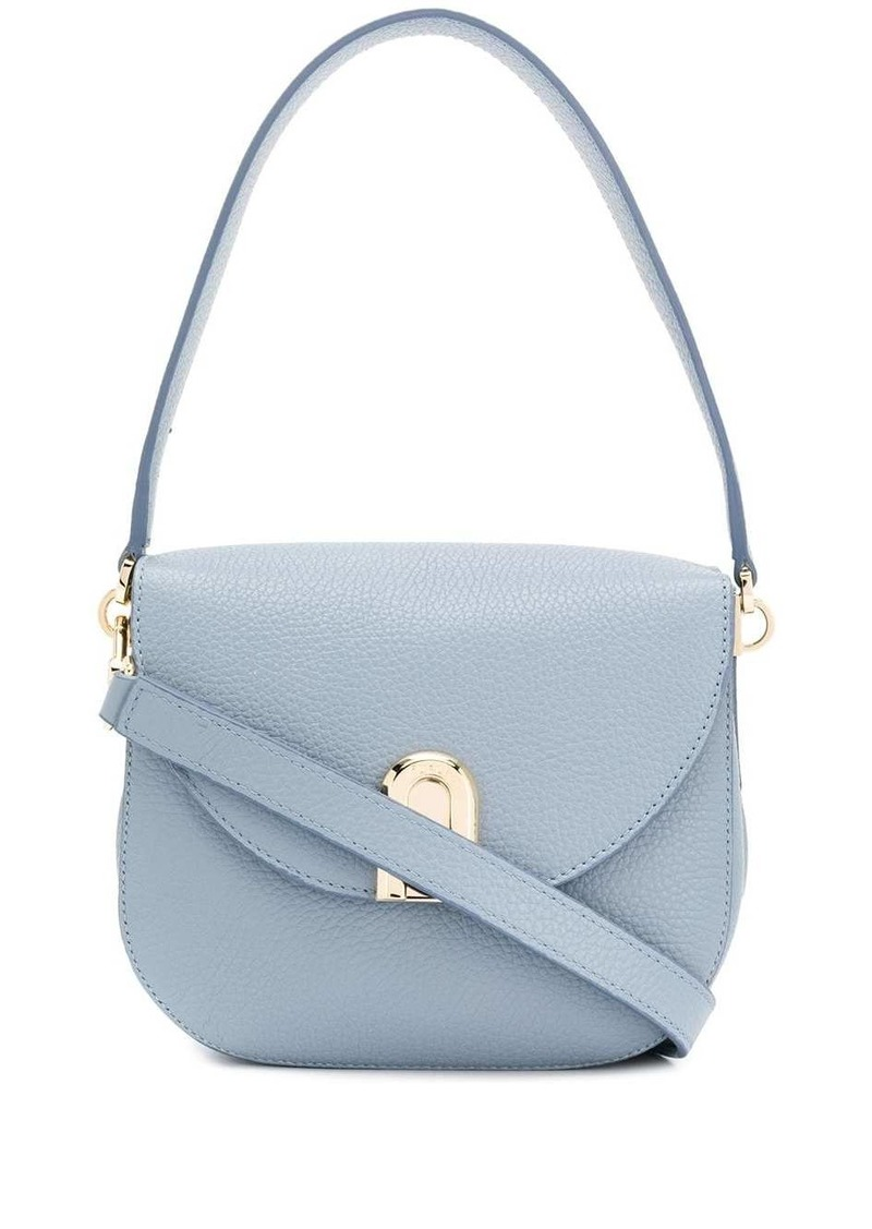 Furla Sleek grained-effect shoulder bag