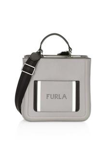 Furla Small Reale Leather Tote Bag