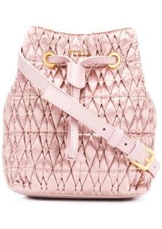 Furla Stasy Cometa velvet small bag