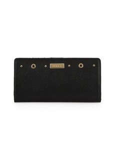 Furla Textured Leather Bi-Fold Wallet