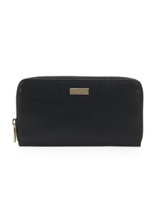 Furla Textured Leather Continental Wallet