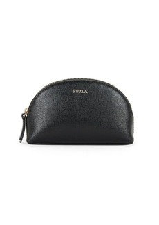 Furla Textured Leather Cosmetic Case