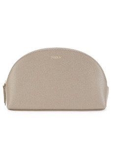 Furla Large 2-Piece Leather Cosmetic Case Set