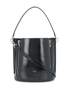 Furla zip details shoulder bag
