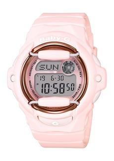 G-Shock Baby-g Women's Analog-Digital Pink Resin Strap Watch 43mm