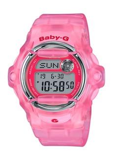 G-Shock Baby-g Women's Digital Pink Jelly Strap Watch 42.6mm