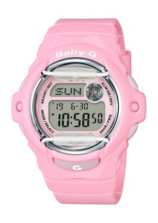 G-Shock Baby G Women's Digital Pink Resin Strap Watch 42.6mm