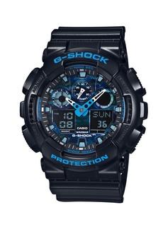 G-Shock Camo Face Resin Strap Watch, GA100CB1A