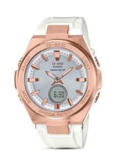 G-Shock G-MS White Watch, 38.4mm