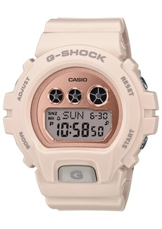 G-Shock Ladies Retro Digital Series Blush With Rose Gold-Tone Face Watch